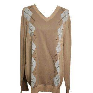 Banana Republic Brown Vneck Sweater XL